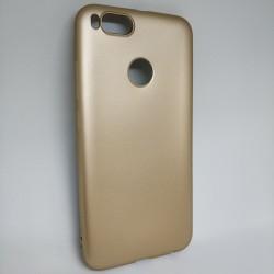 Чехол силиконовый J-Case золотой Mi A1