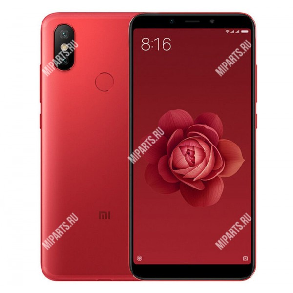 Смартфон Xiaomi Mi A2 4/64Gb красный