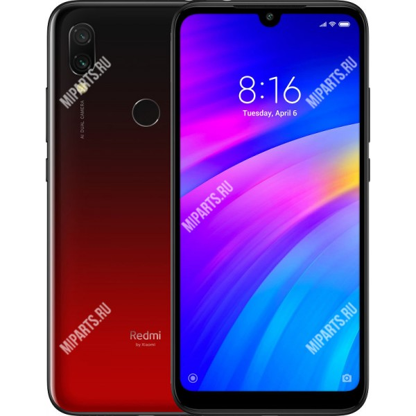 Смартфон Xiaomi Redmi 7 3/64Gb красный