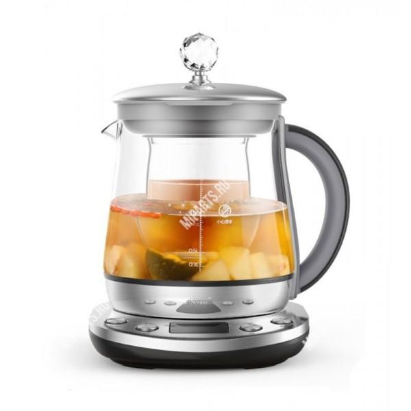 Чайник-заварник Xiaomi Deerma Multi-function Electric Heat Kettle серебристый